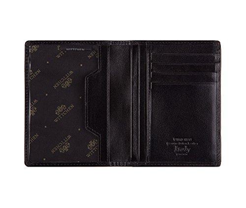 WITTCHEN caso, Nero, Dimensione: 12.5x9.5 cm - Materiale: Pelle di grano - 21-2-174-1 Nero