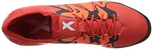 adidas  X15.1 FG/AG, Chaussures de football homme Naranja / Blanco