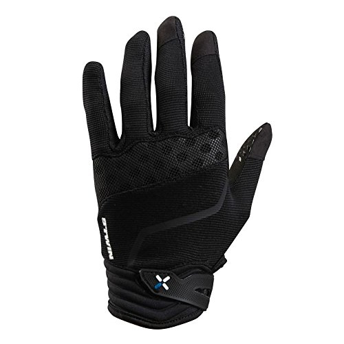 b'twin 700 mountain bike cycling gloves - black B'TWIN 700 MOUNTAIN BIKE CYCLING GLOVES – BLACK 41DRqKNBXtL