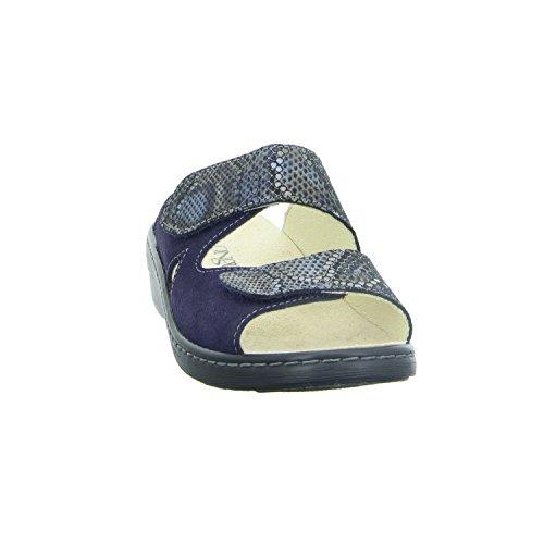 LONGO 1006385, Mules Pour Femme Bleu