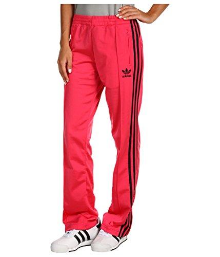 adidas Damen Firebird Track Pants Super Pink/Schwarz, Damen, Mehrfarbig, Medium -