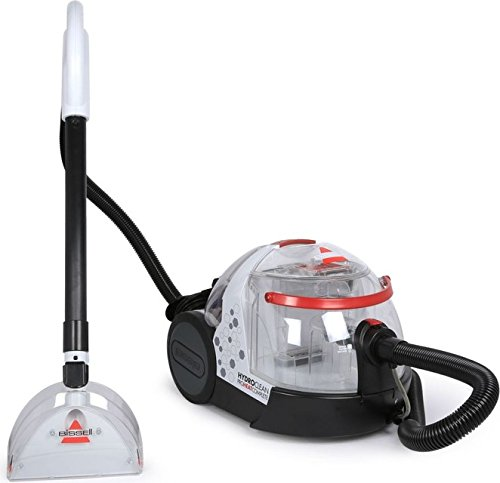 Bissell Hydro Clean Pro Heat Complete 1474E 4-Litre Canister Vacuum Cleaner (White)