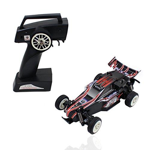 Smart-Planet® kleines ferngesteuertes Auto MINI Speed RC Elektro bis zu 25 km/h - Buggy Car - inkl. 2,4 GHz Fernbedienung - Komplettpaket - inkl. Akku - 4 Kanal etc. Bravo Car (Rc-elektro Buggy Racing)