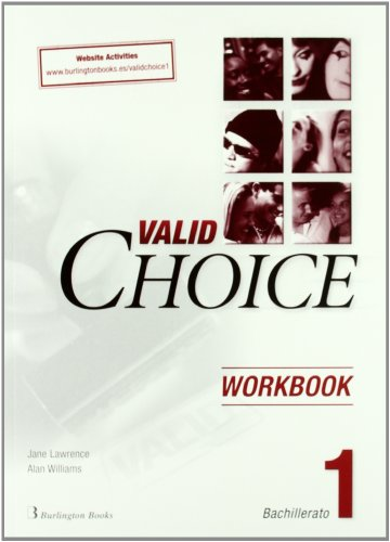 Valid Choice Bachillerato 1. Workbook. Website Activities - 9789963481576