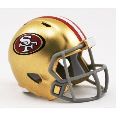 3 Speed Fan-shop (San Francisco 49ers Riddell Mini-Speed Pocket Pro Micro/Kamerahandys/Football Helm)