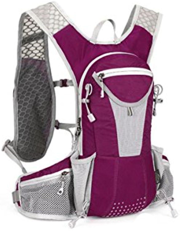 LLQ.LQ Mochilaexteriorhombremujermontarmochilas,Purple  - Zapatos de moda en línea Obtenga el mejor descuento de venta caliente-Descuento más grande