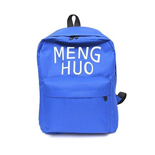 Longra Travel Bag signore zaino Blu