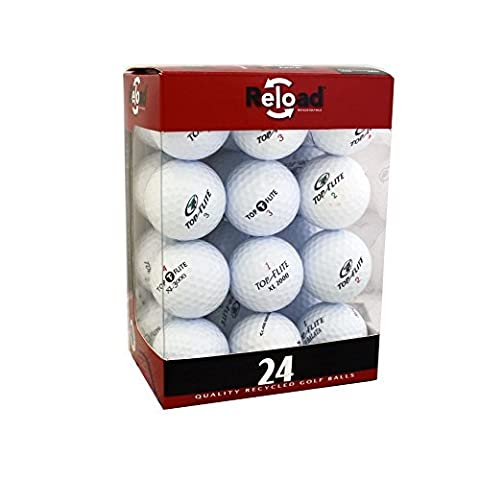 Reload Recycled Golf Balls (24-Pack) Top Flite Golf Balls by Top Flite