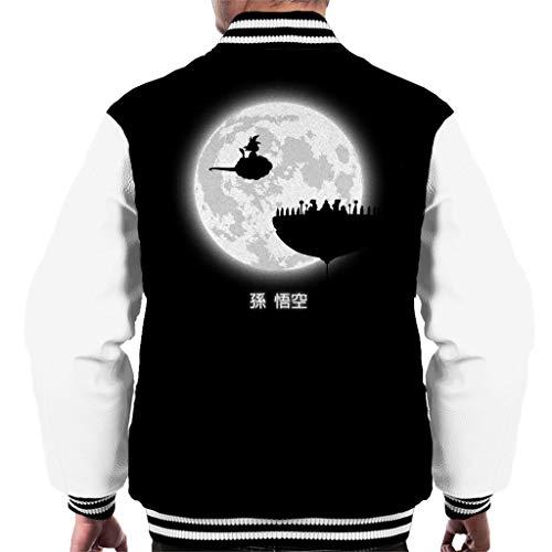 Dragon Ball Z Dont Look at The Full Moon Men's Varsity Jacket