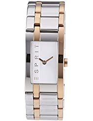 Esprit Damen-Armbanduhr LA Houston Analog Quarz Edelstahl ES000J42083