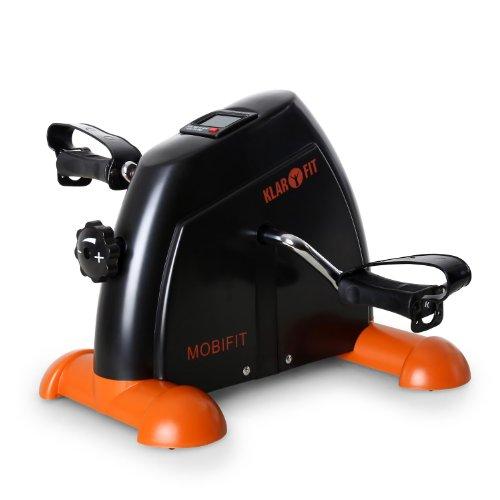 Klarfit Minibike 2G Cyclette compatta (per braccia e gambe, computer di allenamento, resistenza...