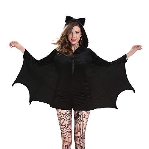 FZTX-ZJJ Sexy Weibliche Batman Halloween Kostüm Cosplay Spiel Uniform Bühnenkleid Party Bühne Maskerade - Batman Theater Kostüm