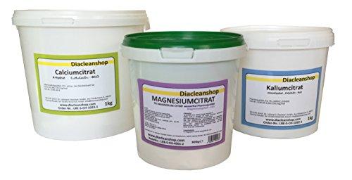 Citrat Set - Magnesium - Kalium - Calcium -