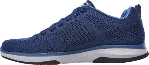 Skechers Burst Tr-Coram, Sneakers Basses Homme Bleu (NVY)