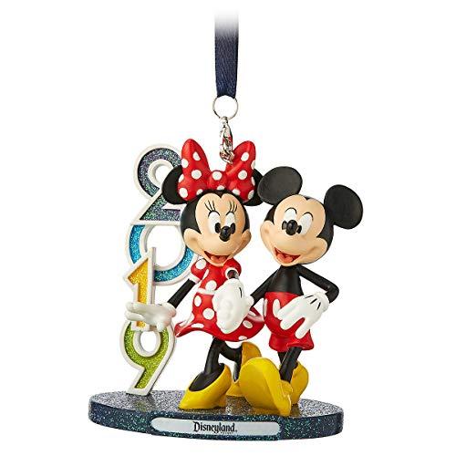 Themenparks 2019 Disneyland Resort, Mickey und Minnie Maus Figur