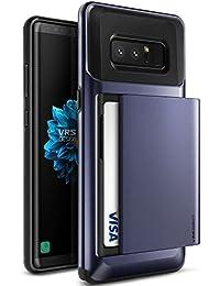 Samsung Galaxy Note 8 Hülle, VRS Design Schutzhülle [Orchid Grey] Schlagfesten Case Kratzfeste Stoßsichere Handyhülle Halbautomatik Schiebetür mit Kartenfach [Damda Glide] für Galaxy Note 8 (2017)