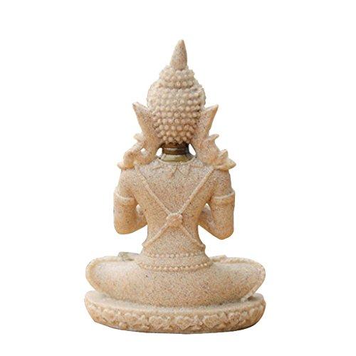 Der Farbton Sandstein Buddha Statue - 3
