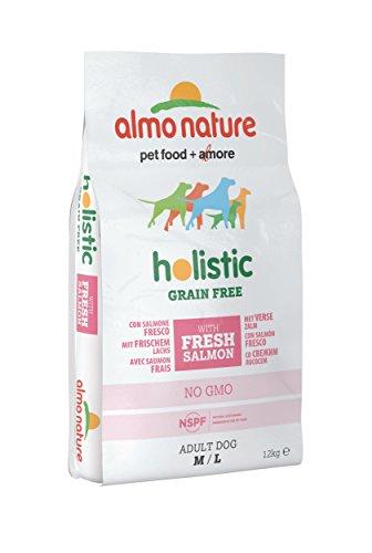almo nature Holistic Grain Free m/l avec Saumon Frais 12kg
