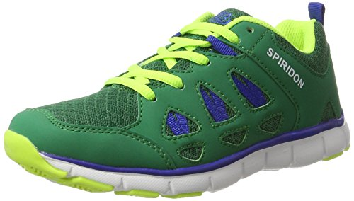 Bruetting Unisex-Erwachsene Spiridon Fit Sneaker Grün (gruen/Blau/lemon)
