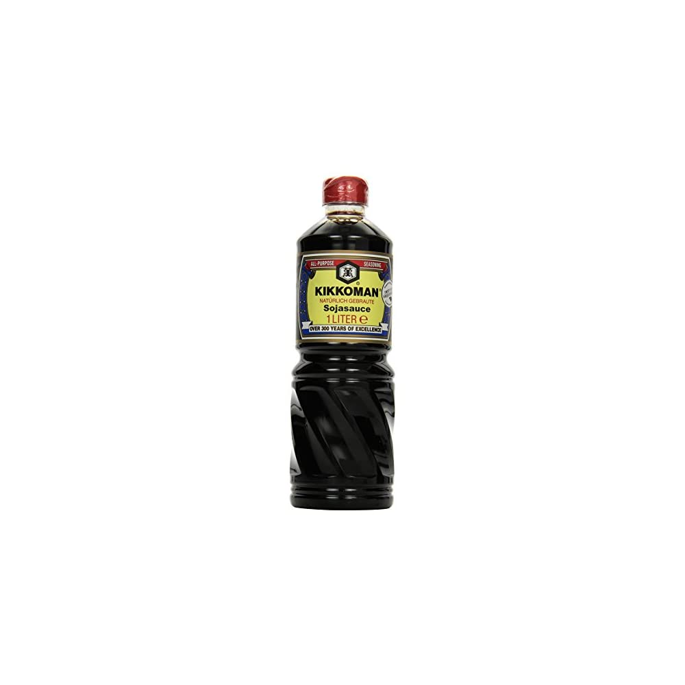 Kikkoman Soja Sauce 1000 Ml 1 Liter Ohne Zusatzstoffe 100 Natrliche Zutaten Natrlich Gebraute Soja Sauce