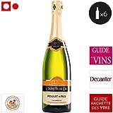 6 bouteilles • DOMAINE (CAVE) POULET Et Fils TRADITION Clairette de Die méthode ancestrale Blanc 6x75cl