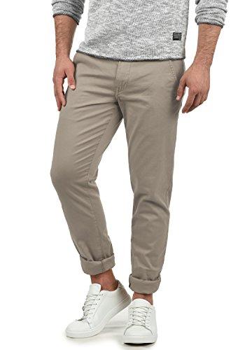 SHINE Original Belfo Herren Chino Hose Stoffhose Strech Slim Fit - Größe: W32/34, Farbe: Stone Grey