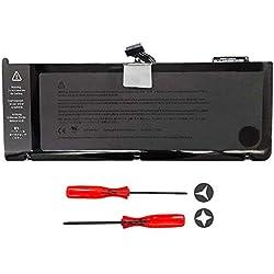 """Batterie de Remplacement A1382 pour Apple MacBook Pro 15"""" Unibody A1286 (Début-2011 Fin-2011) MC723LL/A MC721LL/A Series Ordinateur Portable Battery - 10.95V 77.5Wh"""
