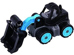BIG Power-Worker Mini Wheel-Loader Sansibar vehículo de Juguete De plástico - Vehículos de Juguete (Negro, Azul, De plástico, Interior, 2 año(s), 5 año(s), Niño)
