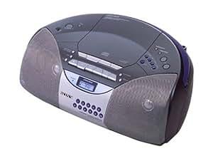 Sony CFD-S400L Radio Cassettes Lecteur CD