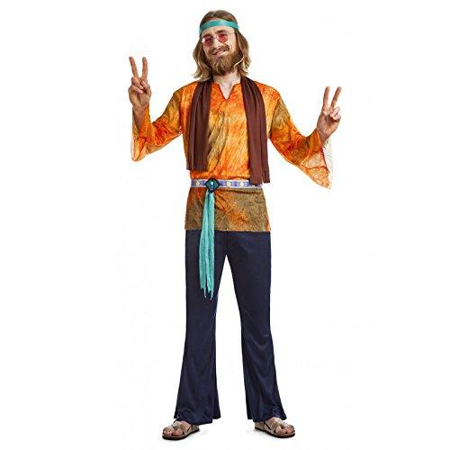 Imagen de disfraz hippie chico talla xl