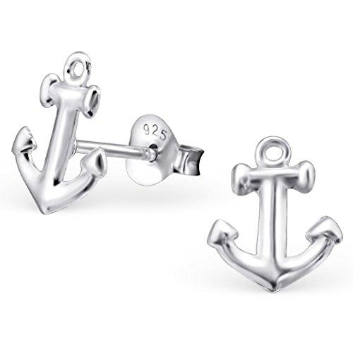 eys-jewelryr-damen-ohrringe-anker-10-x-9-mm-blank-925-sterling-silber-silber-im-etui-damenohrstecker
