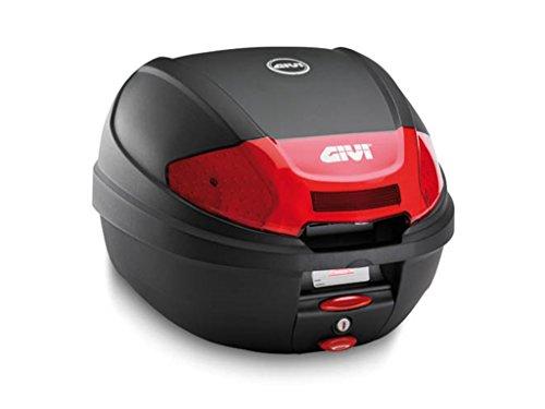 Givi E300N2 Monolock Topcase mit Neuen Verschluss und Platte, Schwarz -