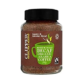 Clipper FT Org Medium Rst Decaf Coffee 200g x 3 (Pack of 3)