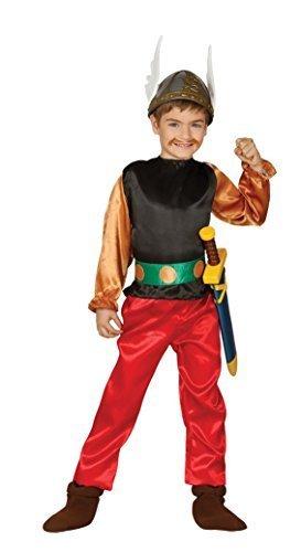 (Jungen römische Soldat Krieger historisch Gladiator büchertag Kostüm Kleid Outfit 5-12 Jahre - Braun, 10-12 Years)