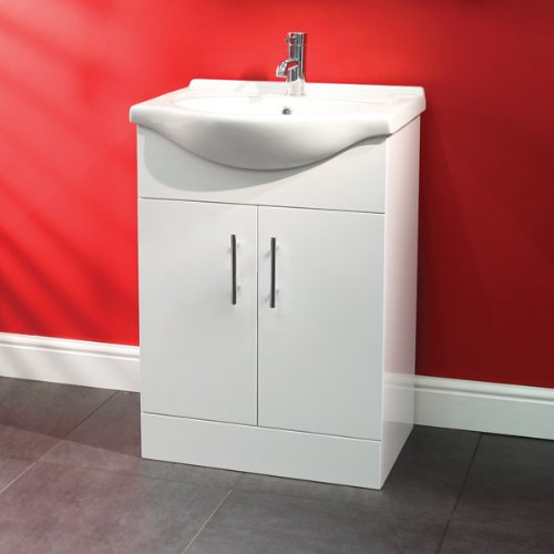 55 Bathroom Wc Combination Unit Modern White Design