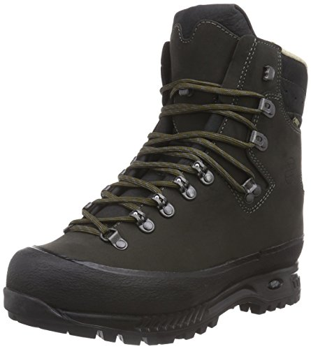 Hanwag Alaska Gtx, Chaussures de Trekking et Randonn&Eacutee Homme Dark Grey - Asche