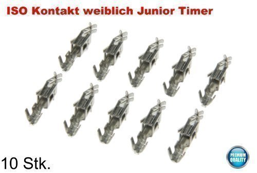 ISO Kontakte 10 x weiblich Junior Timer Female Pins Buchse Stecker Adapter Set (Junior-werkzeug-set)