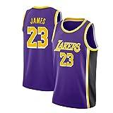 LinkLvoe Maillot Hommes - NBA Lakers # 23Lebron James Mesh Basketball Swing Tournoi de Jersey de qualité supérieure Tous Les Jours...