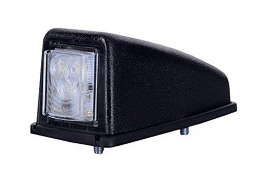1 x 3 SMD LED Weiß Dachleuchte Begrenzungsleuchte Seitenleuchte 12V 24V mit E-Prüfzeichen Positionsleuchte Anhänger Wohnwagen LKW PKW Leuchte Licht (Drei-licht-anhänger Europa)