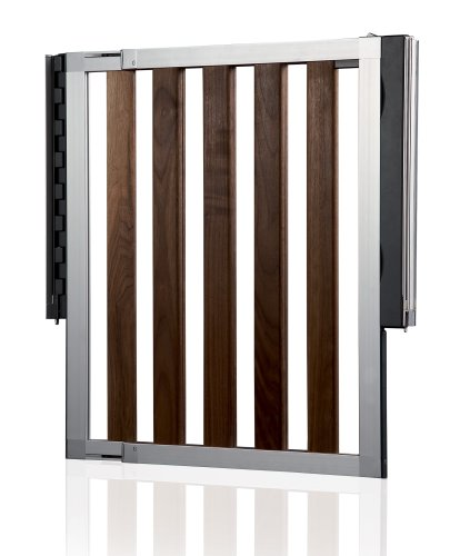 Lindam 04443601 Türschutzgitter Numi Holz und Metal verstellbreite von 66-101cm