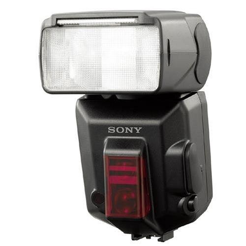Sony HVL-F56AM Programm-Blitz für Alpha-Spiegelreflex mit Leitzahl 56