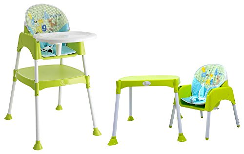Cherry Berry - The Convertible Baby High Chair from R for Rabbit (with cushion)