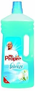 Mr Propre - 81298921 - Nettoyant Ménager - Fraicheur Febreze - Pureté de Coton - 1,5 L - Lot de 2