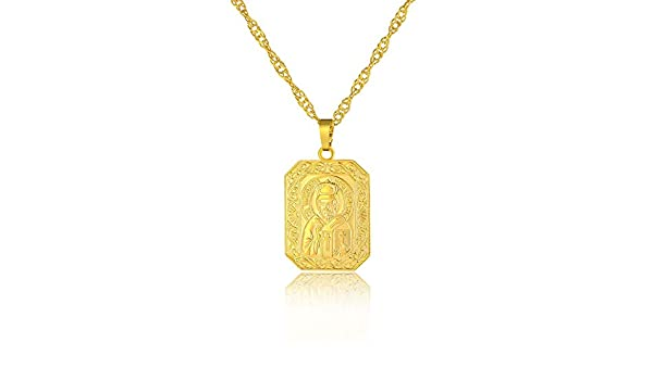 St. Nikolaus Schutzpatron Halskette Orthodoxe Christentum