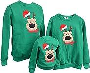 Sudadera Navidad Jersey Navideño Sudaderas Navideñas Familiares Niño Niña Sueter Hombre Mujer Reno Sweaters Es