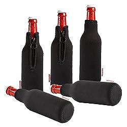Dress-your-drink Neopren Flaschenkühler Getränkekühler Bierkühler (5er Sparpaket 0.3 Liter)