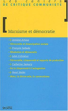 Marxisme et Dmocratie