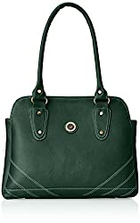 Fostelo Women's Studded Shoulder Bag (Green) (FSB-260)
