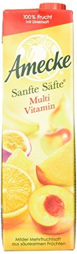 Amecke Sanfte Säfte Multivitamin, 6er Pack (6 x 1 l)