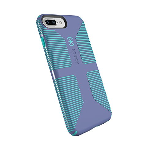 Speck Products CandyShell Grip Handyhülle für iPhone 8 Plus/7 Plus/6S Plus/6 Plus, Wisteria Purple/Mykonos Blue (Plus Candy 6 Shell)